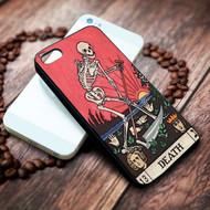 Death Tarot on your case iphone 4 4s 5 5s 5c 6 6plus 7 case / cases
