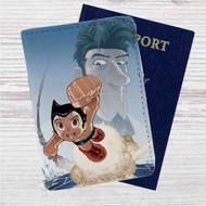 Astro Boy Custom Leather Passport Wallet Case Cover