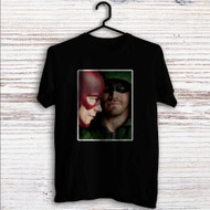 Arrow The Flash Custom T Shirt Tank Top Men and Woman