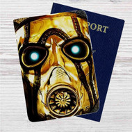 Borderlands 2 Face Custom Leather Passport Wallet Case Cover