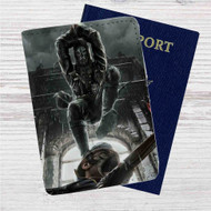 Dishonored Custom Leather Passport Wallet Case Cover