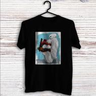 Deadpool Hug Baymax Custom T Shirt Tank Top Men and Woman