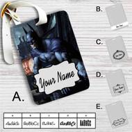 Batman Arkham City Custom Leather Luggage Tag