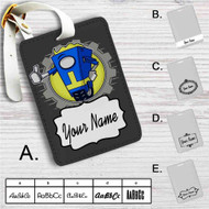 Borderlands Welcome Vault Hunter Custom Leather Luggage Tag