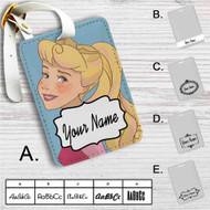 Disney Princess Aurora Custom Leather Luggage Tag