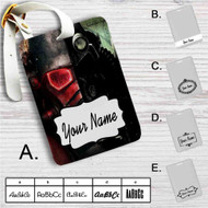 Fallout New Vegas Custom Leather Luggage Tag