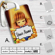 Frisk and Flowley Undertale Custom Leather Luggage Tag