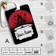 Itachi Uchiha Clan Naruto Shippuden Custom Leather Luggage Tag