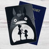 My Neighbor Totoro Custom Leather Passport Wallet Case Cover