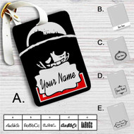 Luffy One Piece Face Custom Leather Luggage Tag