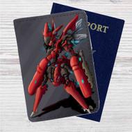 Pokemon Mega Scizor Custom Leather Passport Wallet Case Cover