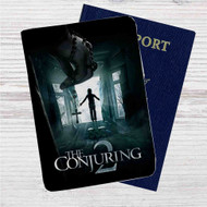 The Conjuring 2 Custom Leather Passport Wallet Case Cover