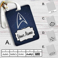 Star Trek Make it So Custom Leather Luggage Tag
