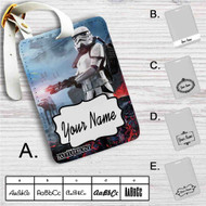 Star Wars Battlefront Custom Leather Luggage Tag