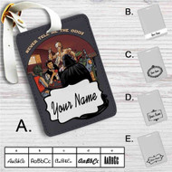 Star Wars Never Tell Me The Odds Custom Leather Luggage Tag