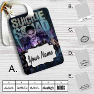 Suicide Squad Custom Leather Luggage Tag