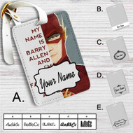 The Flash Quotes Custom Leather Luggage Tag