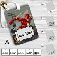 The Flash Super Fast Custom Leather Luggage Tag