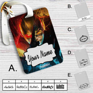 The Flash Custom Leather Luggage Tag