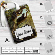 The Jungle Book Movie Custom Leather Luggage Tag