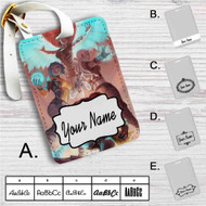 The Sirens of Borderlands Custom Leather Luggage Tag