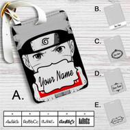 Uzumaki Naruto Face Custom Leather Luggage Tag