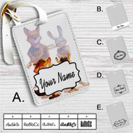 Zootopia Quotes Custom Leather Luggage Tag