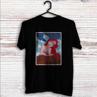 Ariel The Little Mermaid Disney Custom T Shirt Tank Top Men and Woman