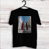 Batman vs Superman Pink FLoyd Custom T Shirt Tank Top Men and Woman