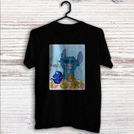 Dory and Stitch Disney Custom T Shirt Tank Top Men and Woman