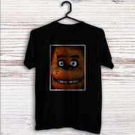 Freddy Fazbear Face Custom T Shirt Tank Top Men and Woman