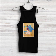 Aladdin and the Genie Disney Custom Men Woman Tank Top T Shirt Shirt