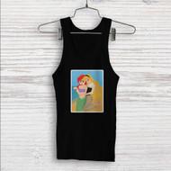 Princess Ariel and Aurora Disney Custom Men Woman Tank Top T Shirt Shirt