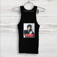 Sebastian Black Butler Cats Custom Men Woman Tank Top T Shirt Shirt