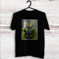 Pikachu Stitch and Toothless Custom T Shirt Tank Top Men and Woman