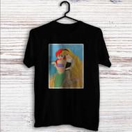 Princess Ariel and Aurora Disney Custom T Shirt Tank Top Men and Woman