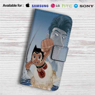 Astro Boy Custom Leather Wallet iPhone 4/4S 5S/C 6/6S Plus 7| Samsung Galaxy S4 S5 S6 S7 Note 3 4 5| LG G2 G3 G4| Motorola Moto X X2 Nexus 6| Sony Z3 Z4 Mini| HTC ONE X M7 M8 M9 Case