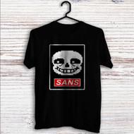 Sans Undertale Face Custom T Shirt Tank Top Men and Woman