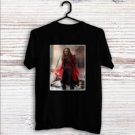 Scarlet Witch from Captain America Civil War Custom T Shirt Tank Top Men and Woman