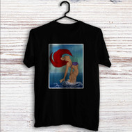 Sexy Ariel The Little Mermaid Disney Custom T Shirt Tank Top Men and Woman