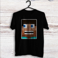 Steve Minecraft Custom T Shirt Tank Top Men and Woman