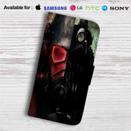 Fallout New Vegas Custom Leather Wallet iPhone 4/4S 5S/C 6/6S Plus 7| Samsung Galaxy S4 S5 S6 S7 Note 3 4 5| LG G2 G3 G4| Motorola Moto X X2 Nexus 6| Sony Z3 Z4 Mini| HTC ONE X M7 M8 M9 Case