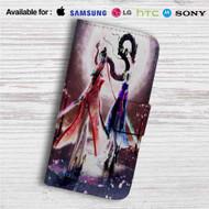 Jeanne Bayonetta Custom Leather Wallet iPhone 4/4S 5S/C 6/6S Plus 7| Samsung Galaxy S4 S5 S6 S7 Note 3 4 5| LG G2 G3 G4| Motorola Moto X X2 Nexus 6| Sony Z3 Z4 Mini| HTC ONE X M7 M8 M9 Case