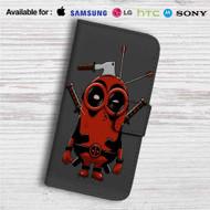 Minion Deadpool Custom Leather Wallet iPhone 4/4S 5S/C 6/6S Plus 7| Samsung Galaxy S4 S5 S6 S7 Note 3 4 5| LG G2 G3 G4| Motorola Moto X X2 Nexus 6| Sony Z3 Z4 Mini| HTC ONE X M7 M8 M9 Case