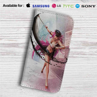 Poison Ultra Super Street Fighter IV Custom Leather Wallet iPhone 4/4S 5S/C 6/6S Plus 7| Samsung Galaxy S4 S5 S6 S7 Note 3 4 5| LG G2 G3 G4| Motorola Moto X X2 Nexus 6| Sony Z3 Z4 Mini| HTC ONE X M7 M8 M9 Case