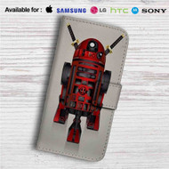 R2D2 Deadpool Custom Leather Wallet iPhone 4/4S 5S/C 6/6S Plus 7| Samsung Galaxy S4 S5 S6 S7 Note 3 4 5| LG G2 G3 G4| Motorola Moto X X2 Nexus 6| Sony Z3 Z4 Mini| HTC ONE X M7 M8 M9 Case