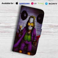 Simpsons Joker Custom Leather Wallet iPhone 4/4S 5S/C 6/6S Plus 7| Samsung Galaxy S4 S5 S6 S7 Note 3 4 5| LG G2 G3 G4| Motorola Moto X X2 Nexus 6| Sony Z3 Z4 Mini| HTC ONE X M7 M8 M9 Case
