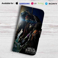 Teenage Mutant Ninja Turtles Out of the Shadows Custom Leather Wallet iPhone 4/4S 5S/C 6/6S Plus 7| Samsung Galaxy S4 S5 S6 S7 Note 3 4 5| LG G2 G3 G4| Motorola Moto X X2 Nexus 6| Sony Z3 Z4 Mini| HTC ONE X M7 M8 M9 Case