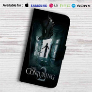 The Conjuring 2 Custom Leather Wallet iPhone 4/4S 5S/C 6/6S Plus 7| Samsung Galaxy S4 S5 S6 S7 Note 3 4 5| LG G2 G3 G4| Motorola Moto X X2 Nexus 6| Sony Z3 Z4 Mini| HTC ONE X M7 M8 M9 Case