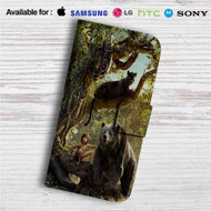 The Jungle Book Movie Custom Leather Wallet iPhone 4/4S 5S/C 6/6S Plus 7| Samsung Galaxy S4 S5 S6 S7 Note 3 4 5| LG G2 G3 G4| Motorola Moto X X2 Nexus 6| Sony Z3 Z4 Mini| HTC ONE X M7 M8 M9 Case